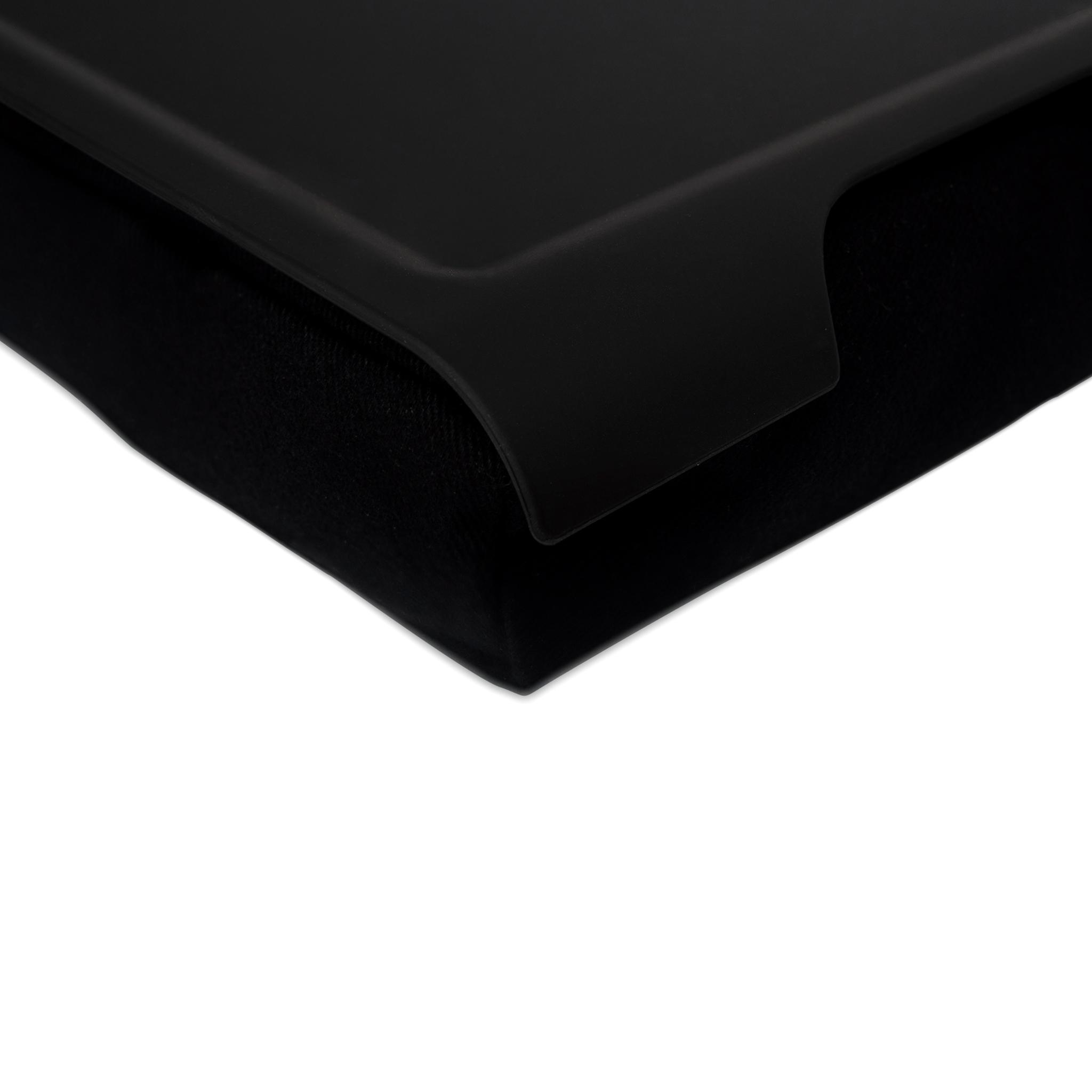 Mini Laptray Anti Slip Black Black Cushion Matte